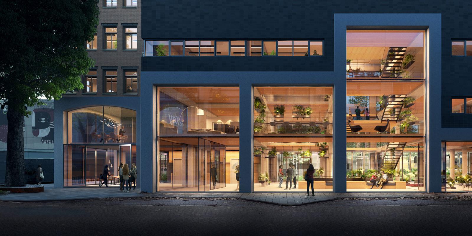 Transformation head office De Key in Amsterdam - DZAP